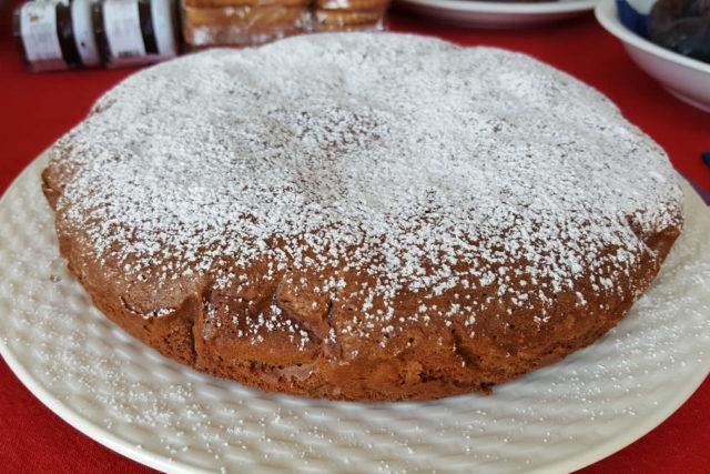 torta cioccolato agriturismo aurivu